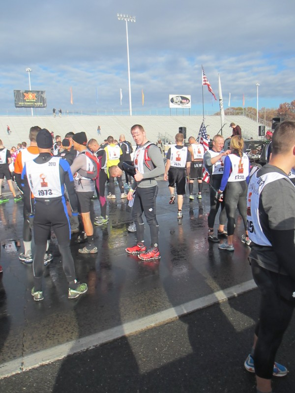 Matt at the starting line
